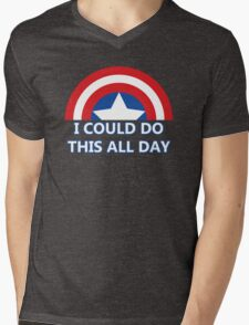 All Day Mens V-Neck T-Shirt