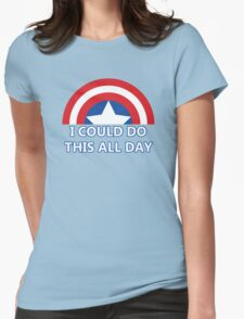 All Day Womens Fitted T-Shirt