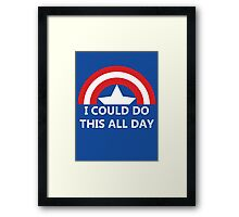 All Day Framed Print