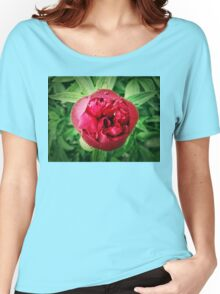 peony Women's Relaxed Fit T-Shirt