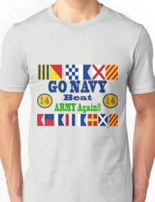 Go Navy Beat Army Again Unisex T-Shirt