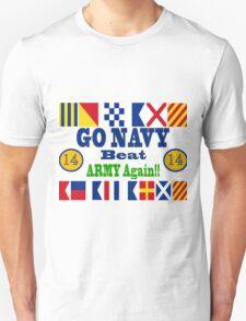 Go Navy Beat Army Again Unisex T-Shirt