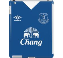 Everton - Kit Design iPad Case/Skin