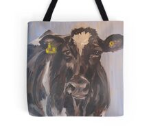 What's up? - Holstein Cow Tote Bag