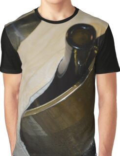 Bottle Of Wine Graphic T-Shirt