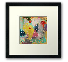 Abstract Art Chaos Contemporary Modern Art Framed Print