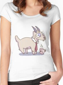 Business Goat Women's Fitted Scoop T-Shirt