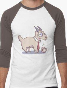 Business Goat Men's Baseball ¾ T-Shirt