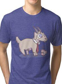 Business Goat Tri-blend T-Shirt