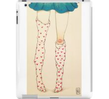 Fallen Tights iPad Case/Skin