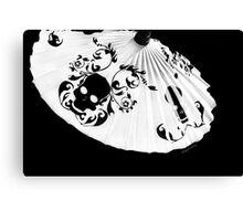 Dia de Los Muertes Umbrella  Canvas Print