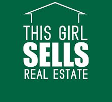 This Girl Sells Real Estate Womens Fitted T-Shirt