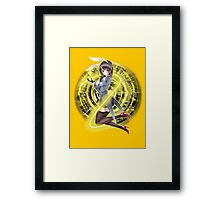 Rabbit Girl Clock - Anime Framed Print