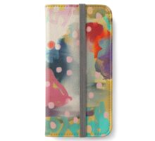 Abstract Art Chaos Contemporary Modern Art iPhone Wallet/Case/Skin
