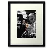 'Just the Other Knight....' Framed Print