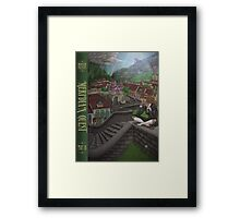 The Meridian Quest: Part III, the Sorceress of the South Framed Print