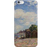 Alfred Sisley - The Loing at Saint-Mammes 1885 French Impressionism Landscape iPhone Case/Skin