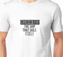 CrissColfer, the ship that sails itself Unisex T-Shirt