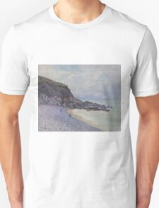 Alfred Sisley - Lady's Cove, Langland Bay, Wales 1897  Impressionism  Landscape  Unisex T-Shirt