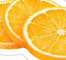 Slices of orange Sticker