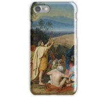 Aleksander Ivanov I - The Apparition of Christ to the People The Apparition of the Messiah 1837 - 1857 iPhone Case/Skin