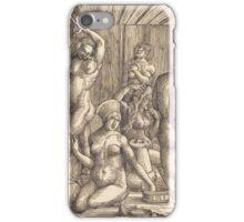 Albrecht Durer  - Women s Bath  1505-1510 Woman Portrait Fashion iPhone Case/Skin