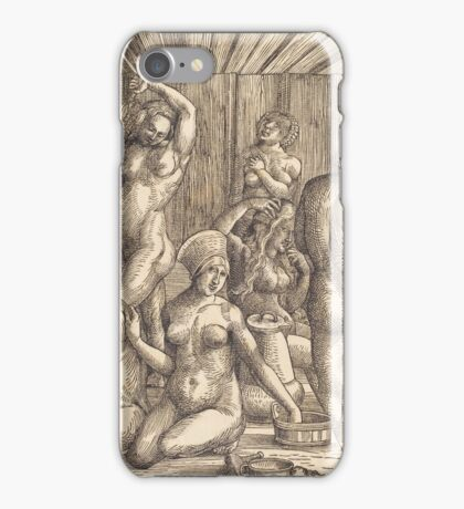 Albrecht Durer  - Women s Bath  1505-1510 Woman Portrait Fashion iPhone Case/Skin