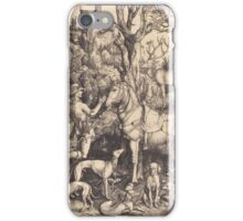 Albrecht Durer  - Saint Eustace  1500-1501 Portrait Fashion iPhone Case/Skin