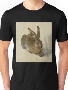 Albrecht Durer  - Hare 1502  Portrait Fashion Unisex T-Shirt