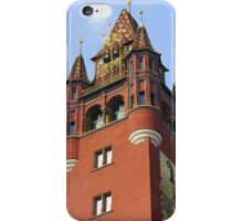 Basel - Cityhall tower iPhone Case/Skin