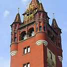 Basel - Cityhall tower by bubblehex08