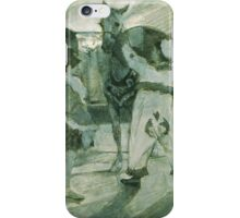 Henri de Toulouse-Lautrec  - In the Wings at the Circus (c.1887) iPhone Case/Skin