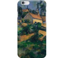Paul Cezanne - Turning Road at Montgeroult 1898 Impressionism  Landscape iPhone Case/Skin