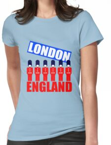 LONDON, ENGLAND-2 Womens Fitted T-Shirt