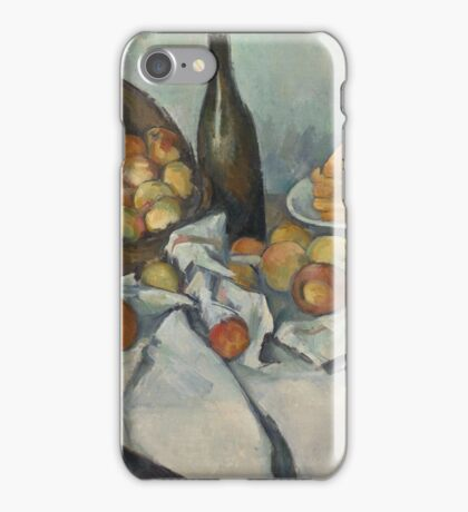 Paul Cezanne - The Basket of Apples  1893 iPhone Case/Skin