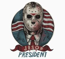 Jason For President Kids Tee