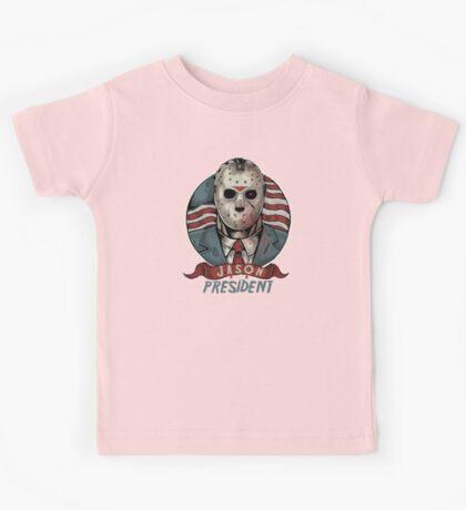 Jason For President Kids Tee