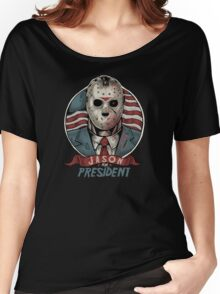Jason For President Women's Relaxed Fit T-Shirt