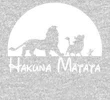 Lion King - Hakuna Matata One Piece - Long Sleeve