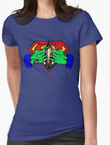 The Heart of a Hero Womens Fitted T-Shirt