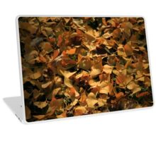 Ginkgo Biloba Leaves in Autumn Laptop Skin