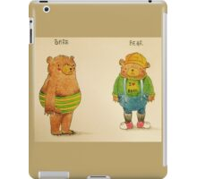 Bare bear iPad Case/Skin