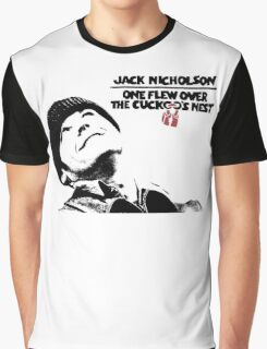 One Flew Over The Cuckoo's Nest Graphic T-Shirt