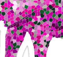 Tile Elephant Sticker