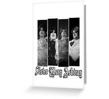Sister Mary Ashtray Greeting Card
