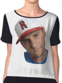 Mark Jiggy Jigarjian Comedy Tshirt design Chiffon Top