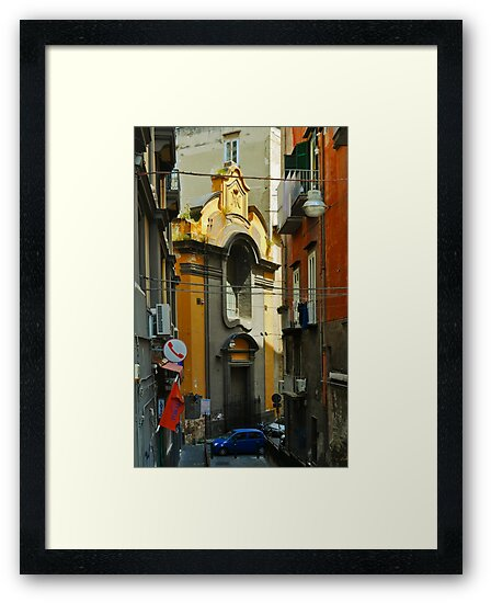 NAPLES AFTERNOON by Thomas Barker-Detwiler