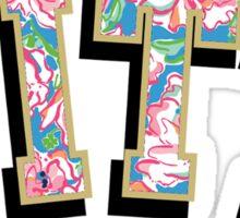 Pitt Floral Sticker