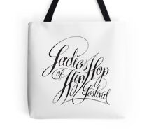Ladies of Hip-Hop Scripted Tote Bag