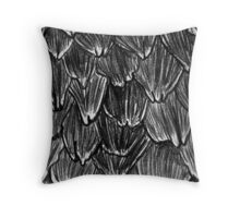 Pangolin Scales Throw Pillow